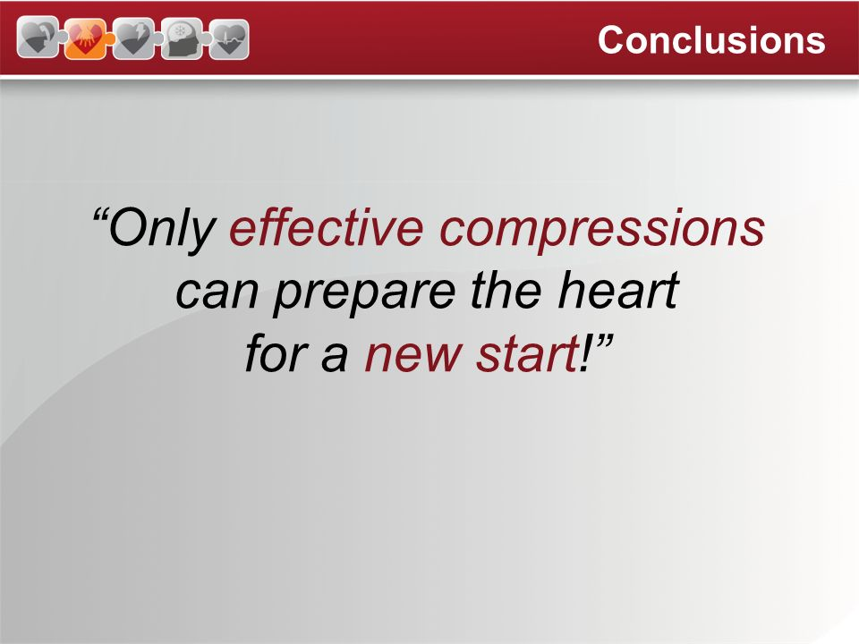 Only effective compressions