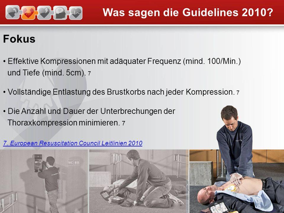 Was sagen die Guidelines 2010
