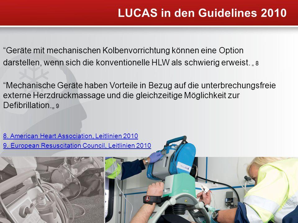 LUCAS in den Guidelines 2010