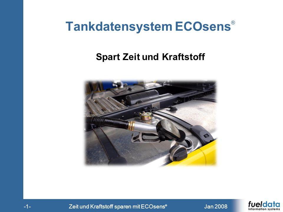 Tankdatensystem ECOsens®