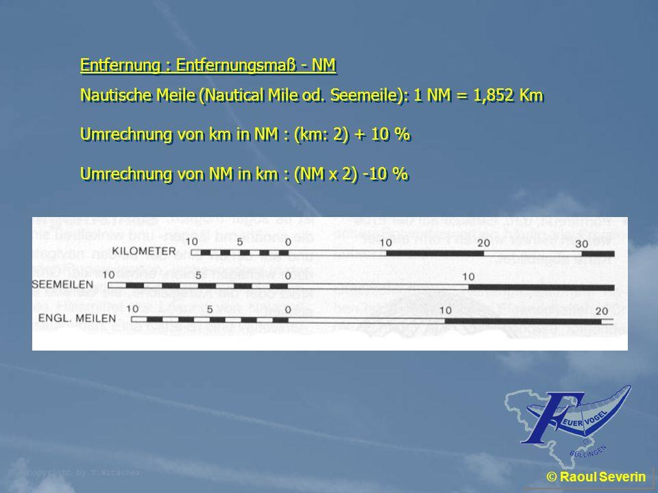 Entfernung : Entfernungsmaß - NM