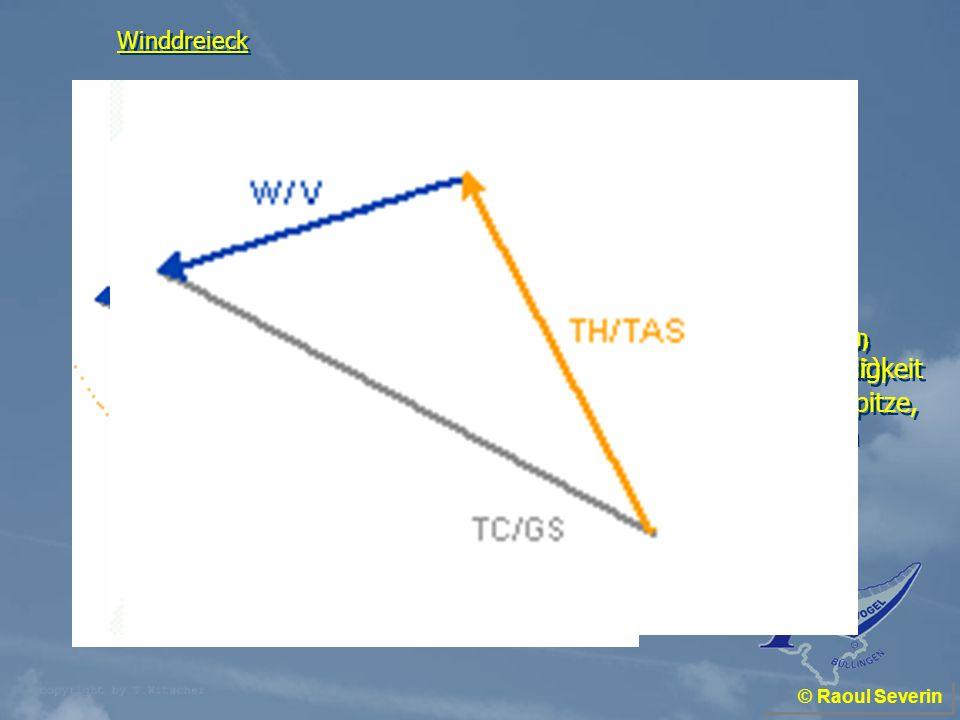 Eigengeschwindigkeit einzeichnen Norden (TN) einzeichnen