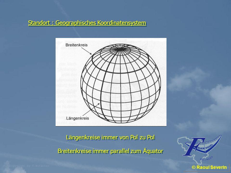 Standort : Geographisches Koordinatensystem