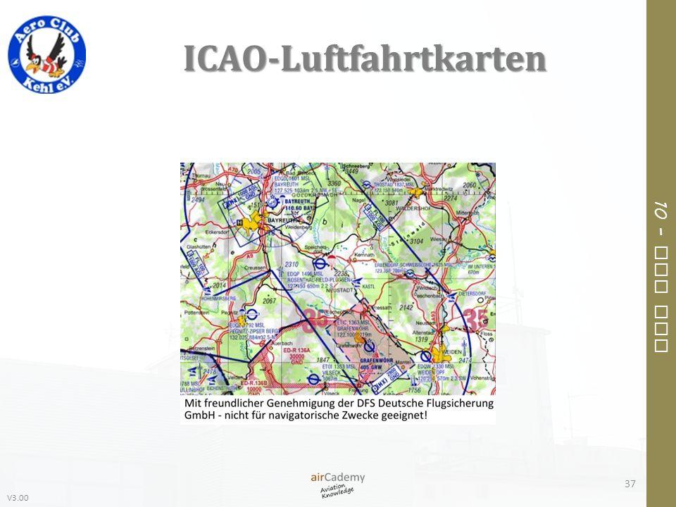 ICAO-Luftfahrtkarten