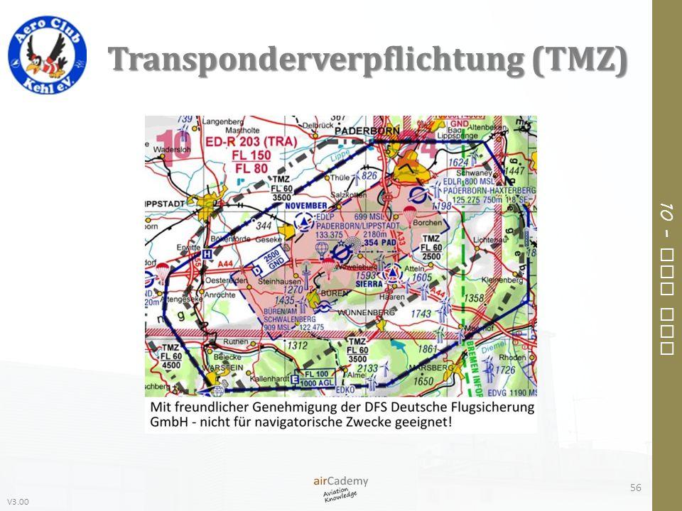 Transponderverpflichtung (TMZ)