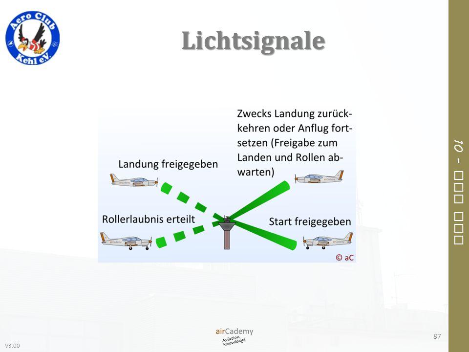 Lichtsignale