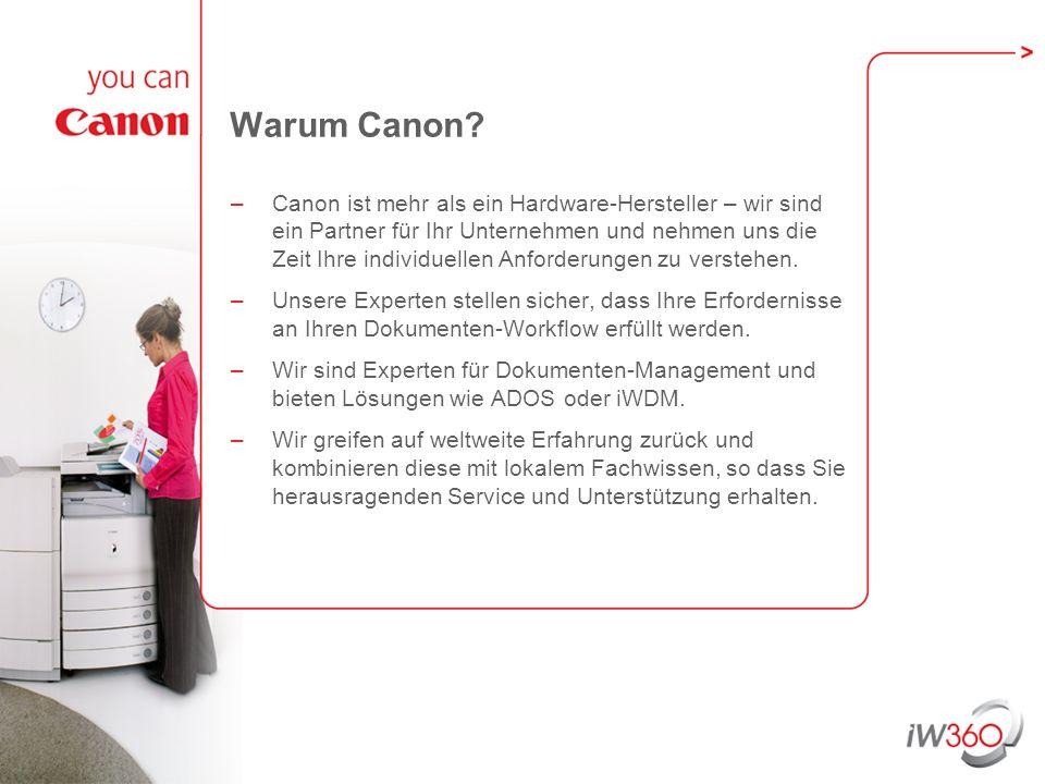 Warum Canon