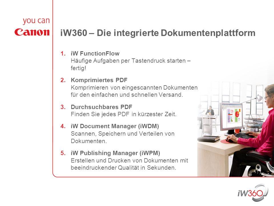 iW360 – Die integrierte Dokumentenplattform