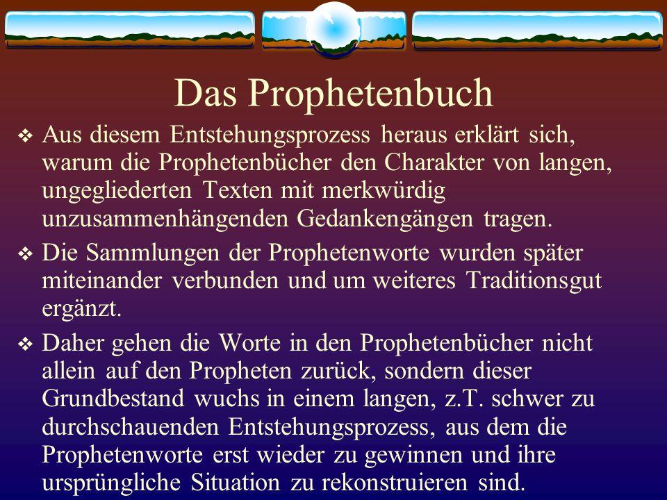 Das Prophetenbuch