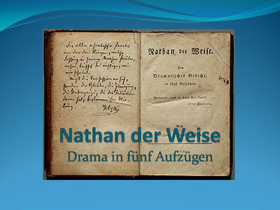 Nathan der Weise Drama in fünf Aufzügen