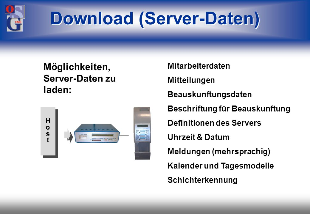 Download (Server-Daten)