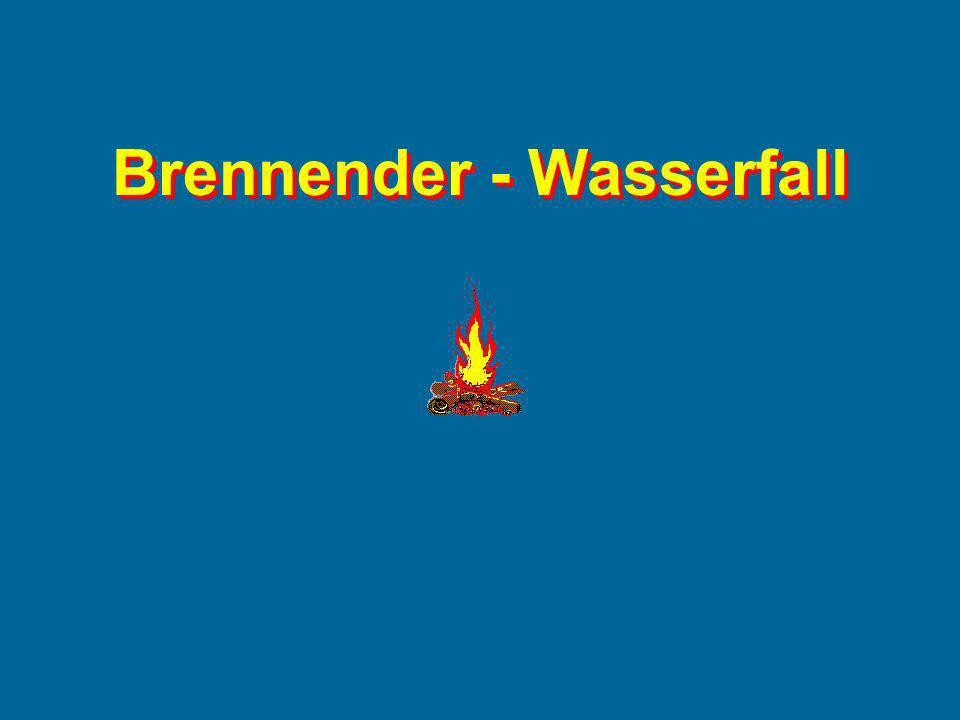 Brennender - Wasserfall