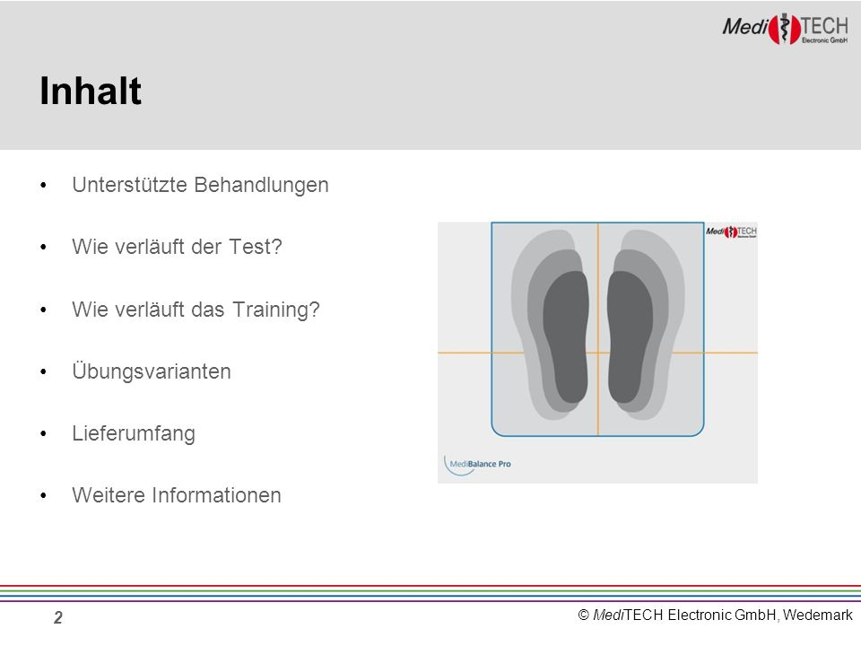 Inhalt Unterstützte Behandlungen Wie verläuft der Test