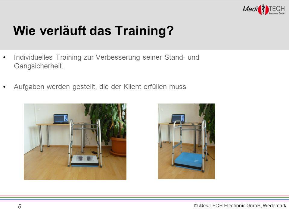 Wie verläuft das Training