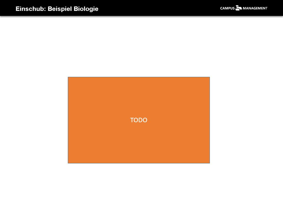 Einschub: Beispiel Biologie
