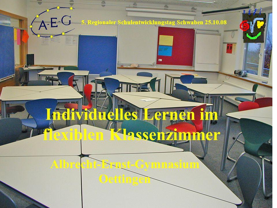 Individuelles Lernen im flexiblen Klassenzimmer