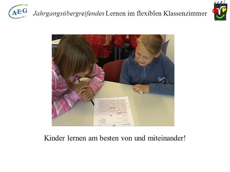 Kinder lernen am besten von und miteinander!