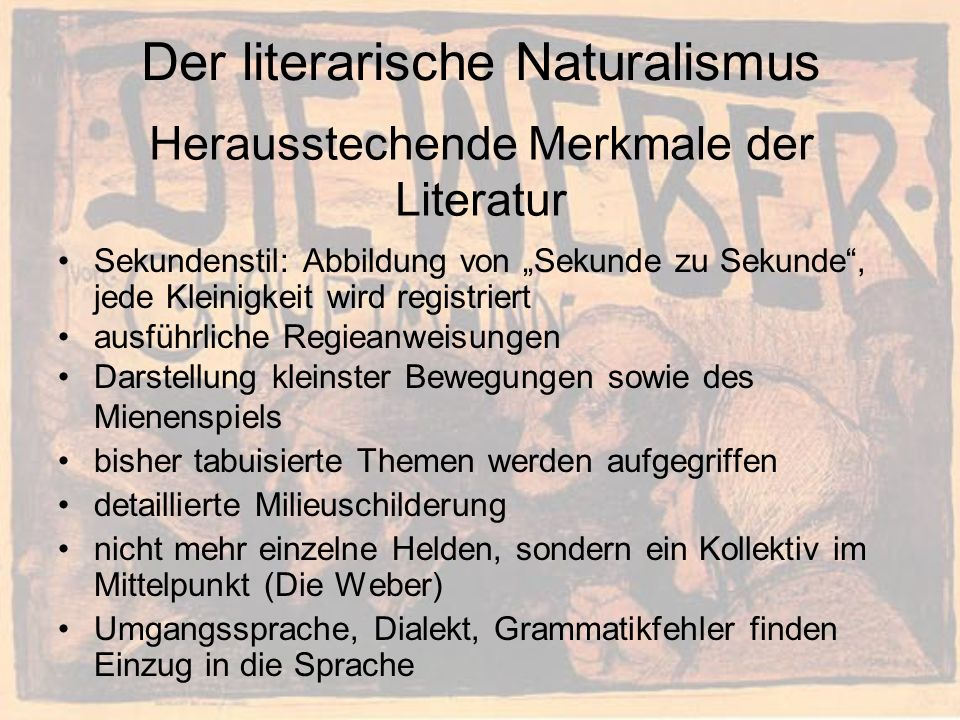 Gliederung Der Natural...