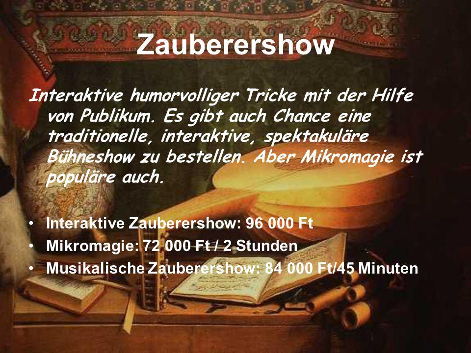 Zauberershow