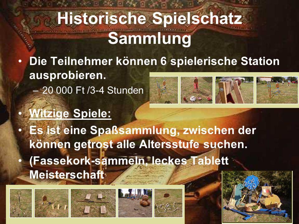 Historische Spielschatz Sammlung