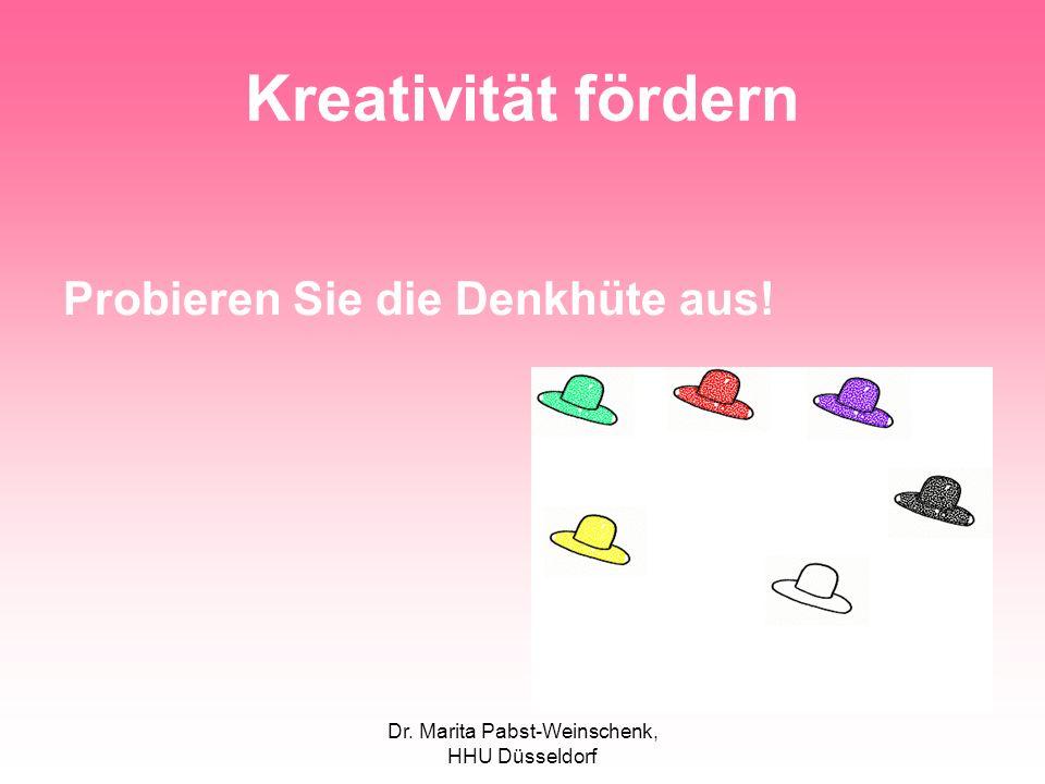 Dr. Marita Pabst-Weinschenk, HHU Düsseldorf