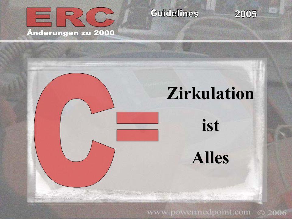 Änderungen zu 2000 C Zirkulation ist Alles =