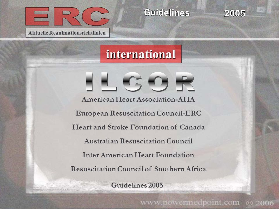 ILCOR international American Heart Association-AHA