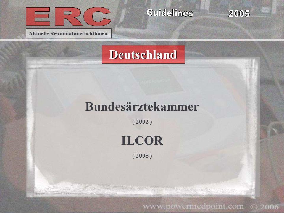 Deutschland Bundesärztekammer ILCOR
