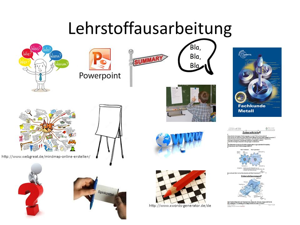 Lehrstoffausarbeitung