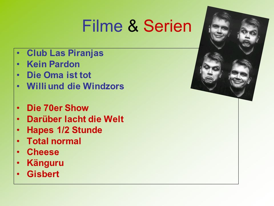 Filme & Serien Club Las Piranjas Kein Pardon Die Oma ist tot
