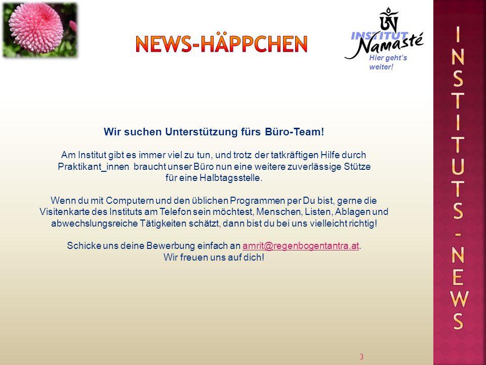 Wir suchen Unterstützung fürs Büro-Team!