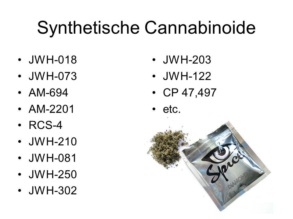 Synthetische Cannabinoide
