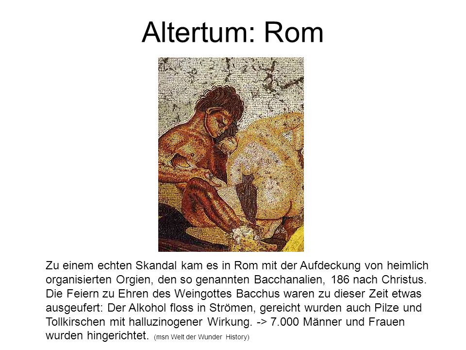Altertum: Rom