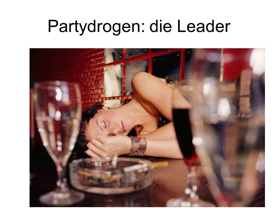 Partydrogen: die Leader