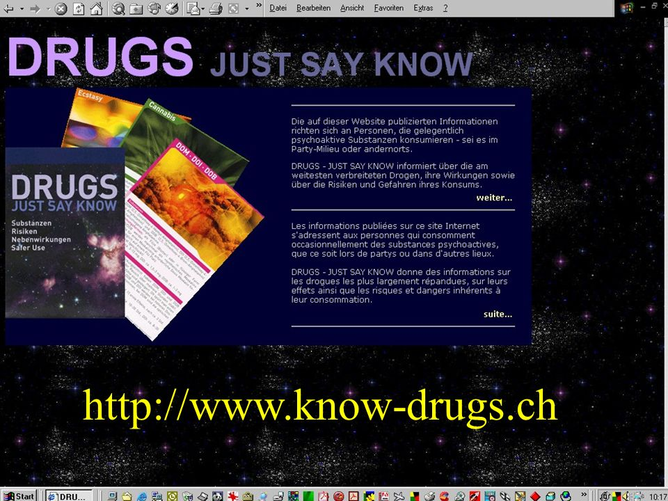 http://www.know-drugs.ch