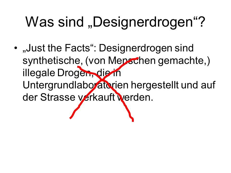 """Was sind """"Designerdrogen"""