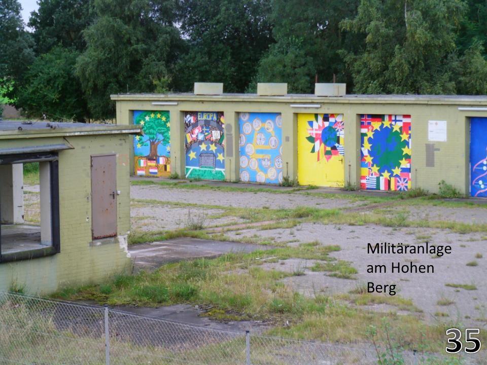 Militäranlage am Hohen Berg