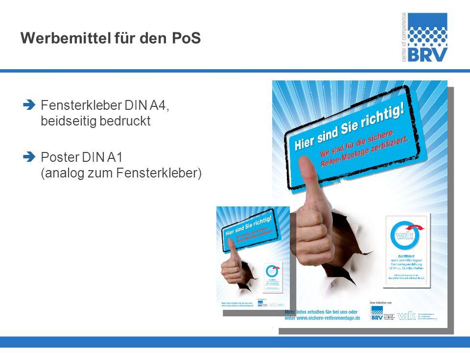 Werbemittel für den PoS