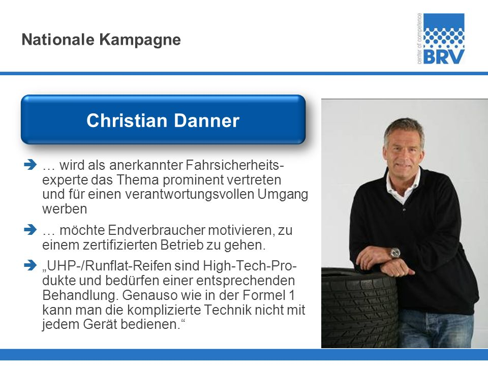 Christian Danner Nationale Kampagne
