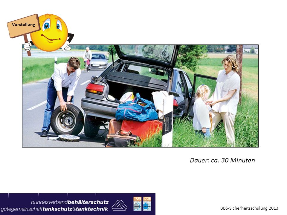 Vorstellung Dauer: ca. 30 Minuten BBS-Sicherheitsschulung 2013