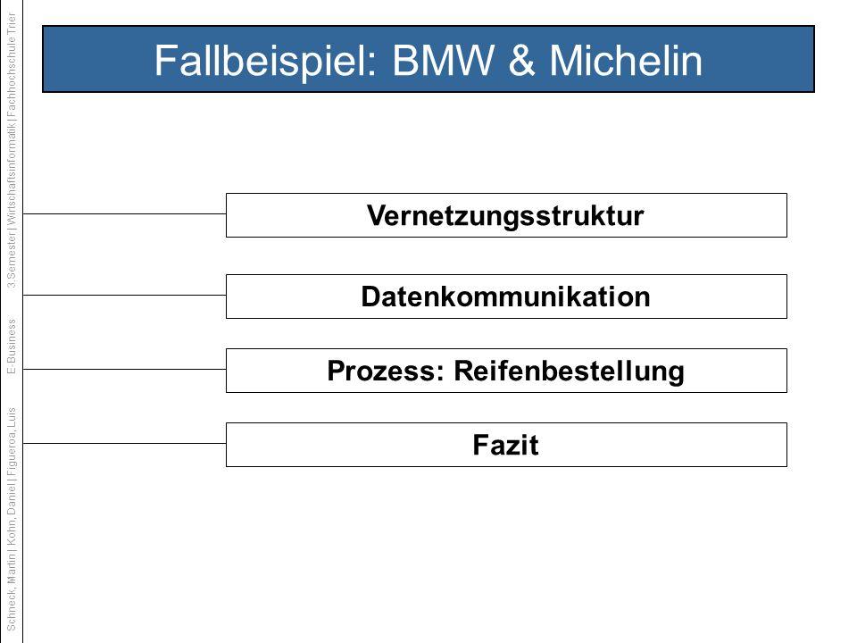 Fallbeispiel: BMW & Michelin