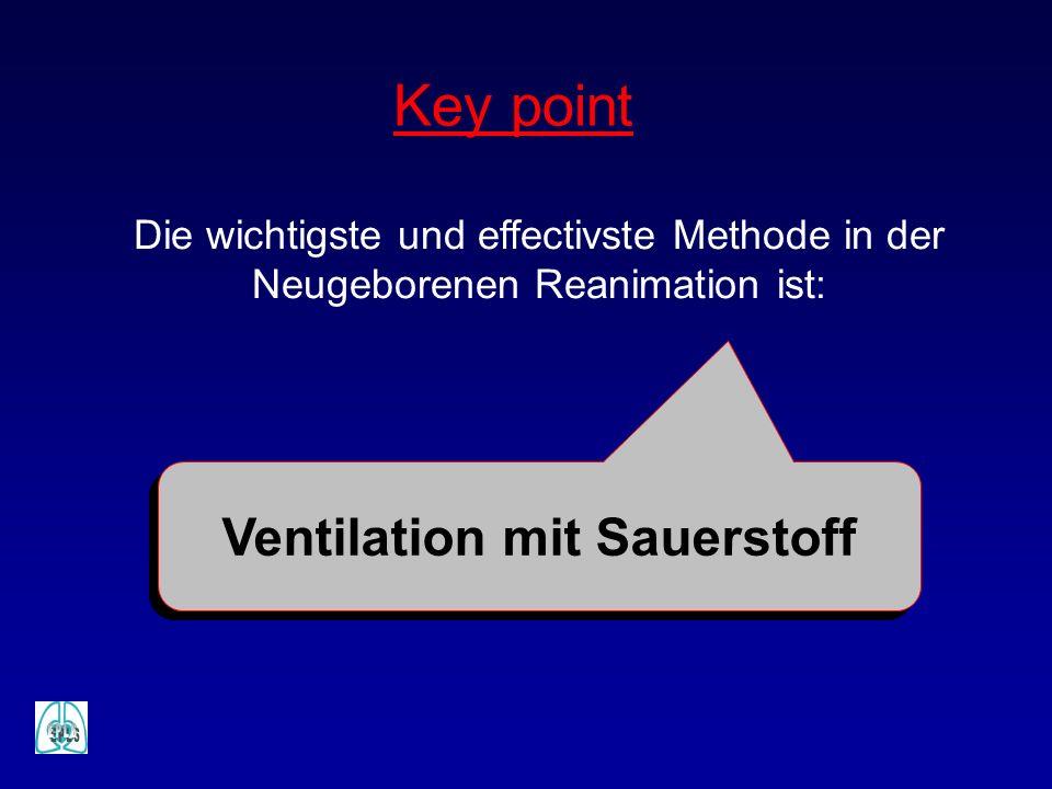 Ventilation mit Sauerstoff