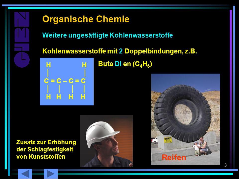Organische Chemie Butadien Reifen