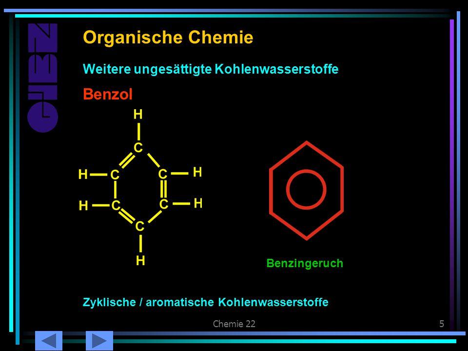 Organische Chemie Benzol Benzol