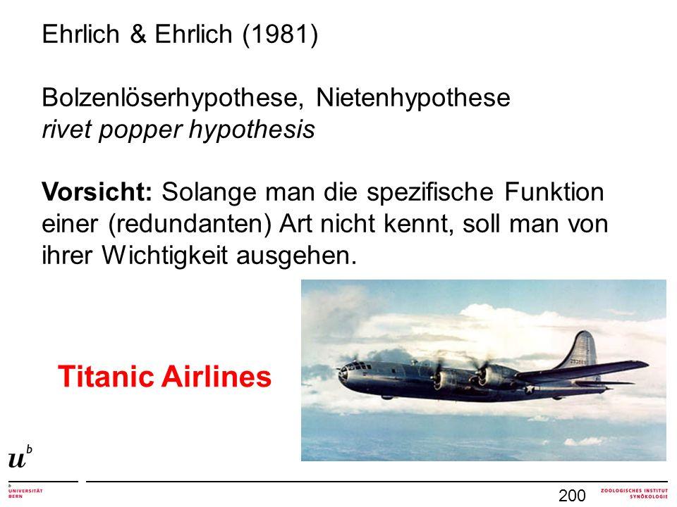Titanic Airlines Ehrlich & Ehrlich (1981)