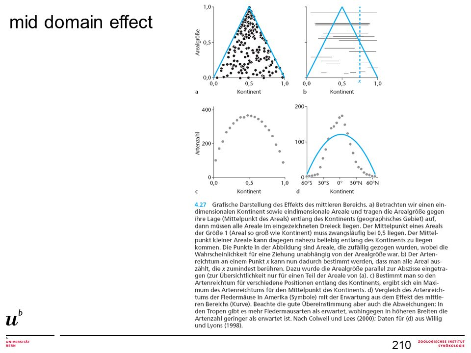 mid domain effect 210