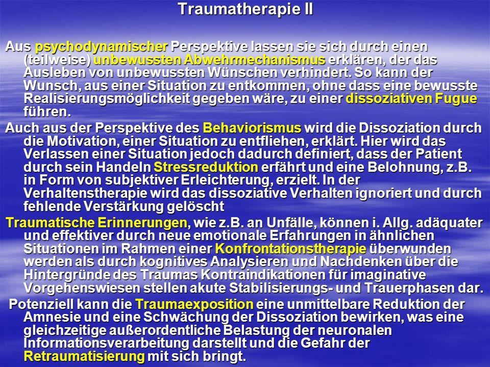 Traumatherapie II