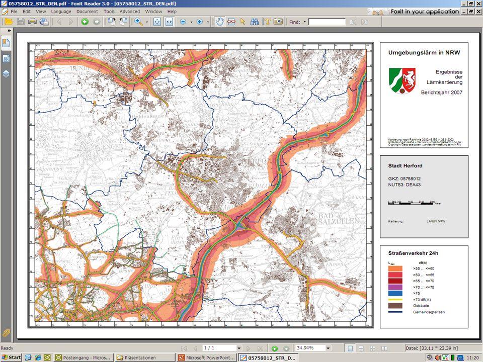 6. Lärmkartierung Hauptverkehrsstraßen
