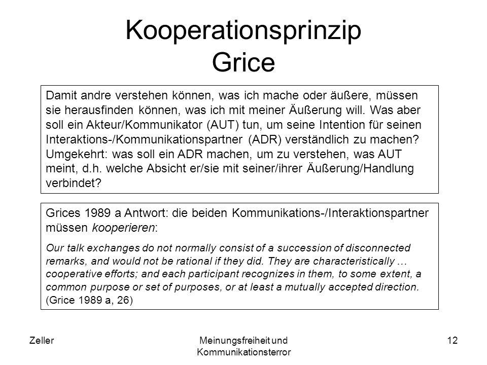 Kooperationsprinzip Grice