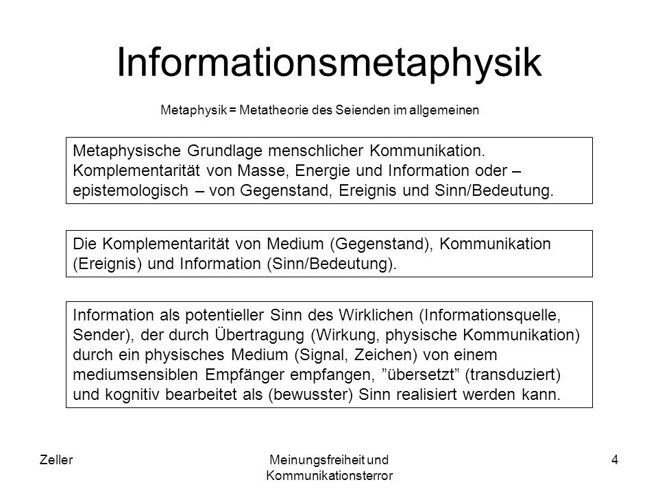 Informationsmetaphysik